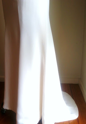 ivory-sheath-style-wedding-dress-satin-crepe-fabric
